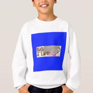 """North Carolina 4 Life"" State Map Pride Design Sweatshirt"