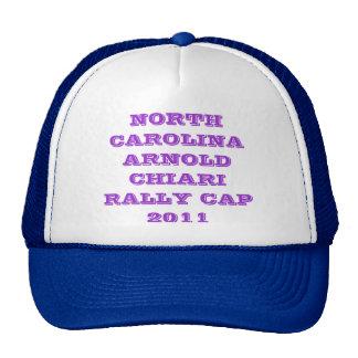 NORTH CAROLINA ARNOLD CHIARI RALLY CAP 2011 TRUCKER HAT