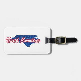 North Carolina Bag Tag