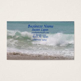 North Carolina Beach Business Card