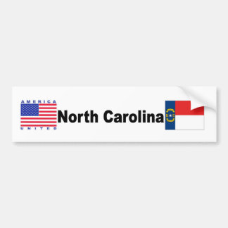 North Carolina Bumper Sticker