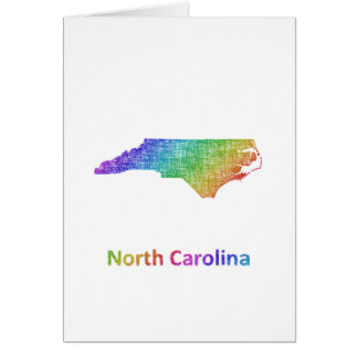 North Carolina Card