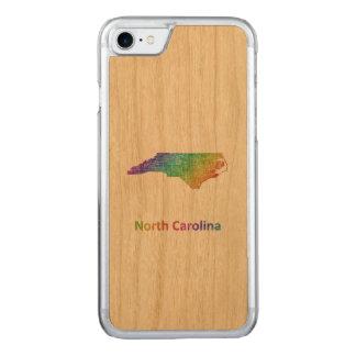 North Carolina Carved iPhone 8/7 Case