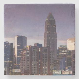 North Carolina, Charlotte, elevated view Stone Coaster
