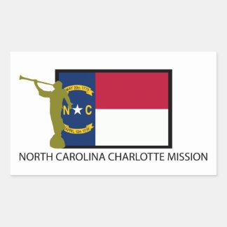 NORTH CAROLINA CHARLOTTE MISSION LDS CTR STICKER