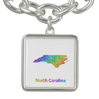 North Carolina Charm Bracelets