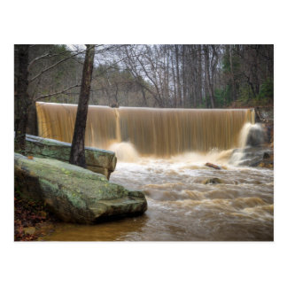 North Carolina Dam overtopping Postcard