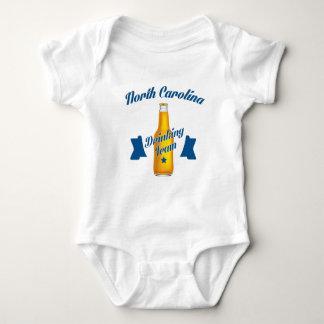 North Carolina Drinking team Baby Bodysuit