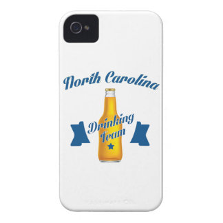 North Carolina Drinking team iPhone 4 Case-Mate Case