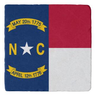 North Carolina  flag, American state flag Trivet
