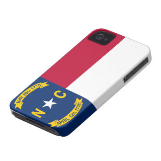 North Carolina Flag iPhone 4 Case
