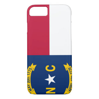 North Carolina Flag iPhone 8/7 Case