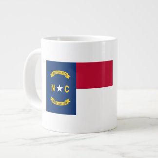 North Carolina Flag Large Coffee Mug
