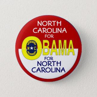 NORTH CAROLINA FOR OBAMA Button