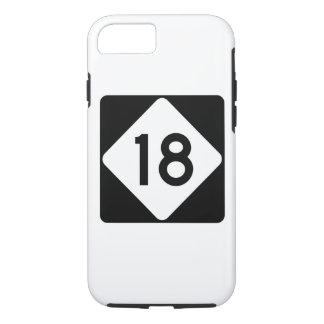 North Carolina Highway 18 iPhone 7 Case