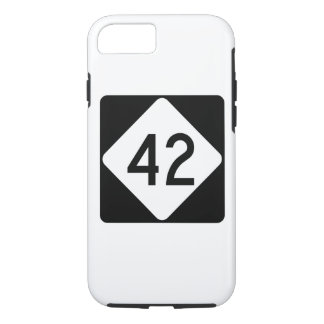 North Carolina Highway 42 iPhone 8/7 Case