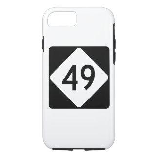 North Carolina Highway 49 iPhone 7 Case