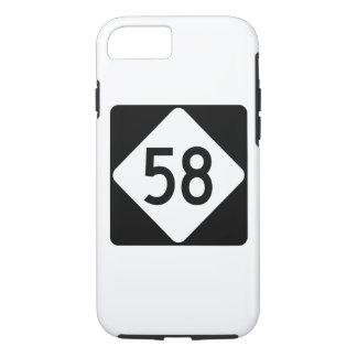 North Carolina Highway 58 iPhone 7 Case
