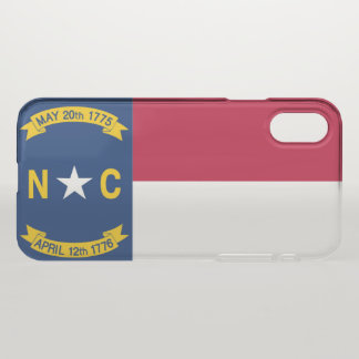 North Carolina iPhone X Case
