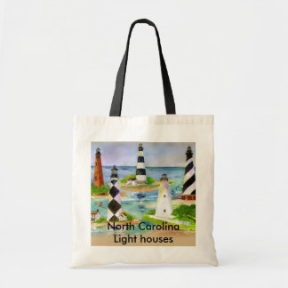 North Carolina Light houses Tote Bag
