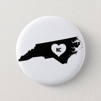 North Carolina Love 2 Inch Round Button