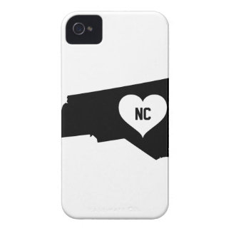 North Carolina Love iPhone 4 Case-Mate Cases