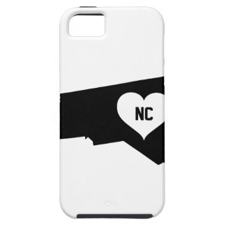North Carolina Love iPhone 5 Cases