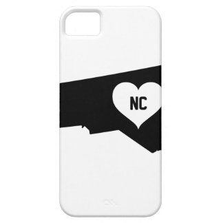 North Carolina Love iPhone 5 Covers