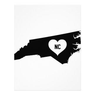 North Carolina Love Letterhead
