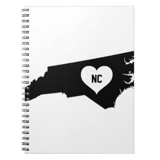 North Carolina Love Notebook