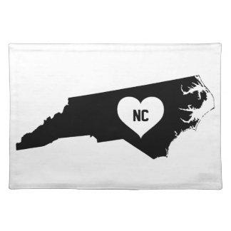 North Carolina Love Placemat
