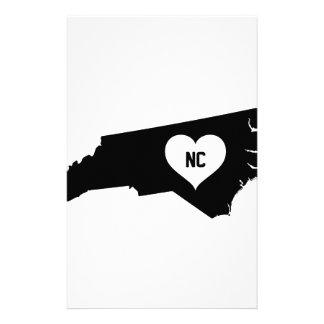 North Carolina Love Stationery