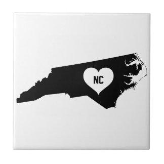 North Carolina Love Tile