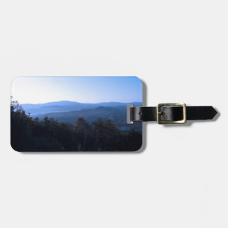 North Carolina Mountains Luggage Tag