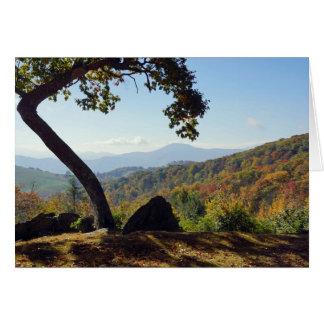 North Carolina Mountains Note Card