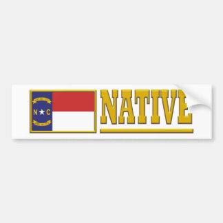 North Carolina Native Bumper Sticker