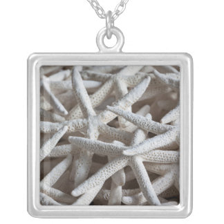 North Carolina, Outer Banks National Seashore 2 Square Pendant Necklace