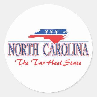 North Carolina Patriotic Stickers