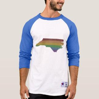 North Carolina Rainbow Gay Pride T-Shirt