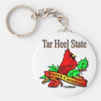 North Carolina Red Cardinal Keychain