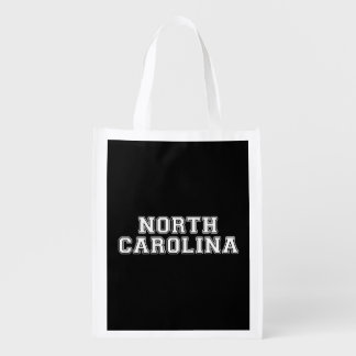 North Carolina Reusable Grocery Bag