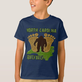 North Carolina Squatch Watch T-Shirt