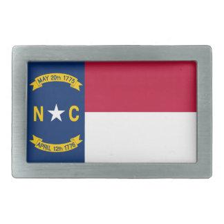 North Carolina State Flag Belt Buckle