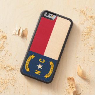 North Carolina State Flag Maple iPhone 6 Bumper Case