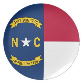 North Carolina State Flag Plate