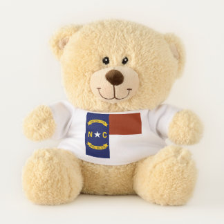 North Carolina State Flag Teddy Bear