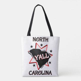 North Carolina State Y'all Tote Bag
