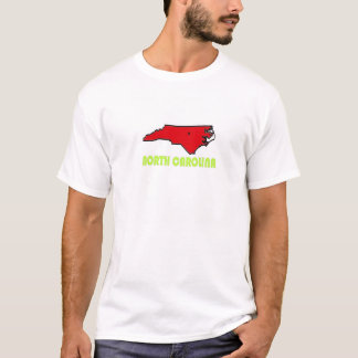 North Carolina T-Shirt Red