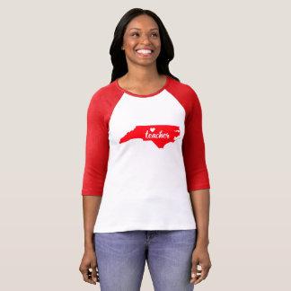 North Carolina Teacher Tshirt (Red)