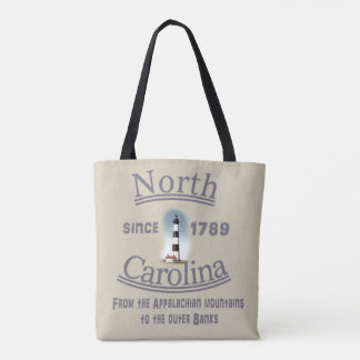 North Carolina Tote Bag - Tote with Class